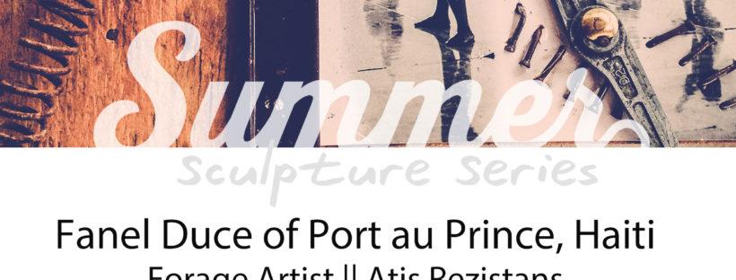 Summer Sculpture Flyer 2014
